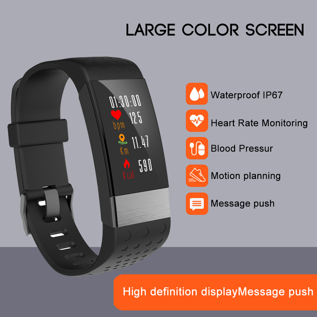 smart armaband uhr smartwatch wasserdicht fitnesstracker. Black Bedroom Furniture Sets. Home Design Ideas